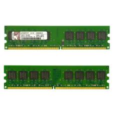 Память DIMM DDR2 Kingston 1Gb, 800 МГц (PC2-6400)