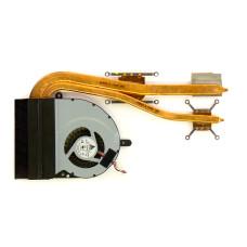 Вентилятор для Asus K53S/K53SK, 13N0-7NA0M01, KSB06105HB, 4pin, с радиатором, Б/У