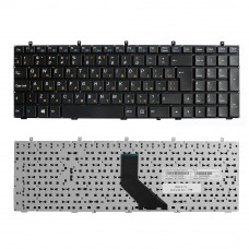 Клавиатура для ноутбука DNS 0170720, 0123975, 0170728, 0164801 черная, без рамки