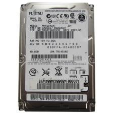 "Жесткий диск 2.5"" Fujitsu MHV2040AH, 40 Гб, IDE, 5400 об/мин, 8 Мб, Б/У"