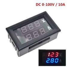 Вотльметр с апмерметром DC 0-100V, 10A
