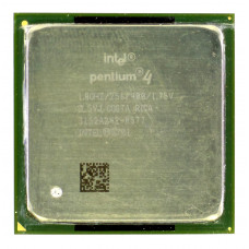 Процессор Intel Pentium 4 1.8 ГГц Socket 478, Willamette, TDP 77W, Б/У