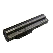 Аккумулятор BTY-S12 для для ноутбука MSI Wind U90, U100, U120, U200, U230 Series, 5200mAh, 11.1V, черный (Original), Б/У