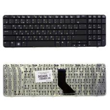 Клавиатура для ноутбука HP Pavilion G60 Compaq Presario CQ60 черная, плоский Enter