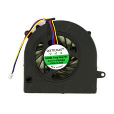 Вентилятор 009438 для ноутбука Lenovo G460 G475 G560 G570 G575 Z460 Z465 Z560 Z565, P/N GC057514VH-A, DC280008ZA, AB06505HX12DB00, VER-2, 2 ушка крепления, 4 pin, 5V