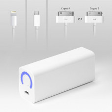 Внешняя батарея TopON TOP-MICRO 3000mAh, белый, 5V