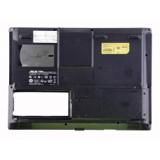 Нижняя часть корпуса 13GNLF1AP054 для ноутбука Asus F5RL черная, Б/У
