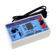 Тестер LED TV BLINK регулируемый, дисплей V+mA, 0-210V, 0-20mA