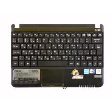 Верхняя часть корпуса E2P-016C21X-TA2 (016C234TA2) для ноутбука MSI U100, U130, U135, U135DX, L1350D (MS-N011, MS-N014) черная, Б/У