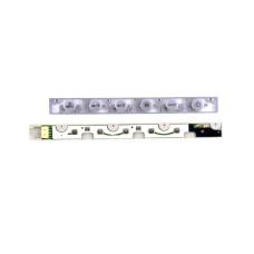 Плата кнопок BTN-740N для монитора Samsung 740N, цвет серебристый, Б/У