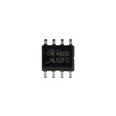Сборка транзисторная AO4606 N+P-канальный, 30 В, 6.9/6 А, SO-8