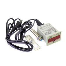 Электронный счетчик LED, 6-разрядов, с датчиком металла
