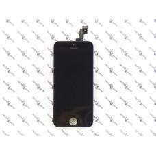 Дисплей с тачскрином Apple iPhone 5S/SE (IPS) черный (JDF)