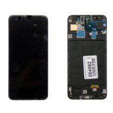 """Дисплей с тачскрином Samsung Galaxy A30 SM-A305F 6.4"""", черный"""