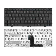 Клавиатура для ноутбука DNS Medion E1226 MD98570 E1228 MD98720 черная, рамка черная (TopON)