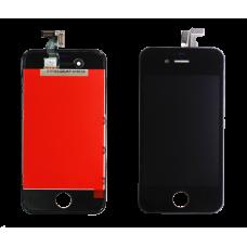Дисплей с тачскрином Apple iPhone 4S черный AAA