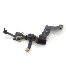 Шлейф фронтальной камеры с датчиком приближения для iPhone 5S (Original)