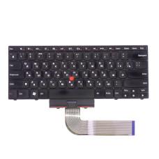 Клавиатура для Lenovo ThinkPad Edge E40 черная, плоский Enter Б/У