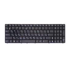 Клавиатура для ноутбука Asus A52 A54 G51 G53 G72 G73 K52 черная, рамка черная (Darfon) Б/У