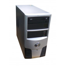 ПК Intel Celeron E3200, 2.4 ГГц, 2 Гб, 320 Гб HDD, GTS 450, Mini-Tower, Win 7 Professional, 400W, Б/
