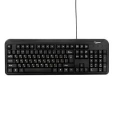 Клавиатура Gembird KB-8330U-BL черная, USB