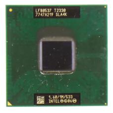 Процессор Intel Pentium Dual-Core Mobile T2330 Socket P (mPGA478MM) 1.6 ГГц, Б/У