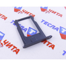 Лоток (держатель) для SIM-карты для Apple iPhone 5, 5G черный