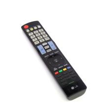 Пульт AKB72914209 для телевизора LG оригинальный черный, износ 50%, Б/У
