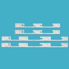 """Подсветка LED 32"""" LED32F1100CF 3+3+4+4=14LED, 4 ленты (KONKA)"""