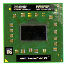 Процессор AMD Turion 64 X2 Mobile TL-60 (Rev G2) 2 ГГц Socket S1 (S1g1), Tyler, TDP 35W, Б/У