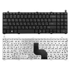 Клавиатура для ноутбука DNS 0124002, 0129303, LG R580, R590 черная, без рамки, плоский Enter (TopON)