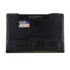 Нижняя часть корпуса 13GNZT1XP12X-3 для ноутбука Asus N53S черная, Б/У