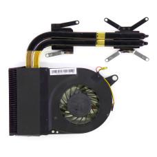 Вентилятор для Acer Aspire E1-772G, E1-731, E1-771 (EA70), 13N0-7NA0M01, 3pin, с радиатором, Б/У