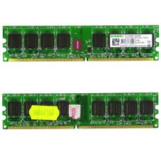 Память оперативная DIMM DDR2 Kingmax 1 Гб, 800 МГц (PC2-6400) CL5 1.8V, Б/У