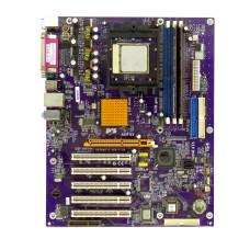 Комплект мат.плата K8T800-A S-754, AMD Sempron 3100, DDR 512 Мб, AGP Radeon 9600LE