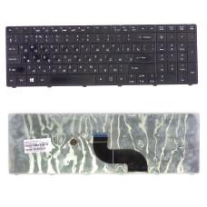 Клавиатура для Acer Aspire E1-521, E1-531, E1-571 черная, плоский Enter (Original) Б/У