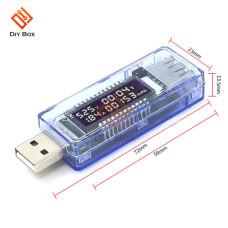 USB тестер KEWEISI KWS-V20 (4-20V, 0-3A, 0-99H, 0-99999mAh)