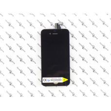 Дисплей с тачскрином Apple iPhone 4 черный AAA