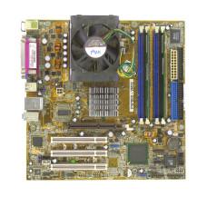 Комплект мат.плата P4P800-VM/S S-478, P4 3.0 ГГц, DDR 512 Мб, HDD 80 Гб, СО