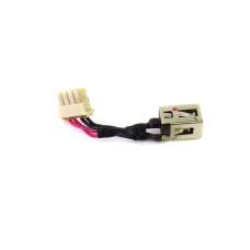 Разъем питания ноутбука 5.5х2.5 мм для Asus K45D с кабелем 20 мм, Б/У
