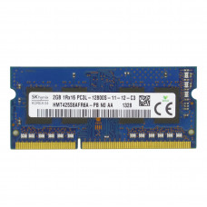 Память SODIMM DDR3L Hynix 2Gb, 1600 МГц (PC3-12800) CL11 1.35V, Б/У