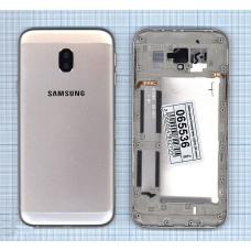 Задняя панель Samsung Galaxy J3 (2017) SM-J330F, золотой
