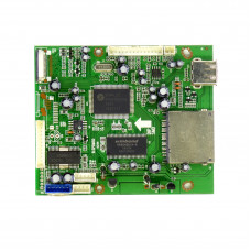 Плата ввода-вывода B.SPDM50 9294 (картридер, USB, подключение DVD) для китайский ТВ, CardReader USB