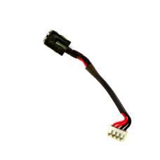 Разъем питания ноутбука 5.5х2.5 мм для Asus с кабелем 60 мм, Б/У