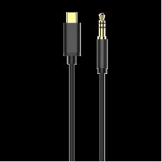 Кабель аудио Baseus Yiven Type-C male To 3.5 male M01 1.2M, черный