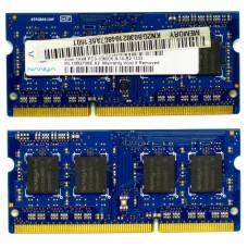 Память SODIMM DDR3 Nanya 2Gb, 1333 MHz (PC3-10600) CL9 1.5V