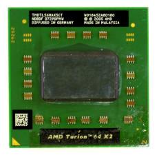 Процессор AMD Turion 64 X2 Mobile TL-56 1.8 ГГц Socket S1 (S1g1), Trinidad, TDP 33W, Б/У
