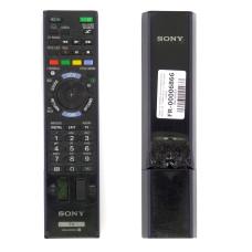 Пульт RM-ED053 для Sony KDL-24W605A оригинальный черный, износ 75%, Б/У