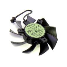 Вентилятор для видеокарты EVERFLOW T128015SH, 75*15 мм, 12V, 2pin, кабель 90 мм