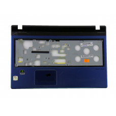 Верхняя часть корпуса AP0HI0006401 для ноутбука Acer Aspire 5750 синяя, Б/У, Есть дефекты